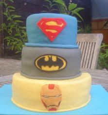 Las mejores tartas de superheroes