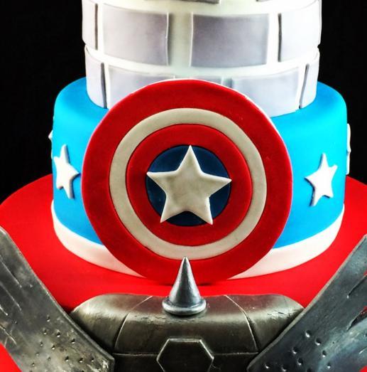 Las mejores tartas de superhéroes
