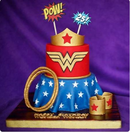 Fiestas temáticas de Wonder Woman